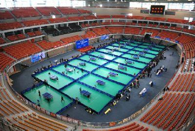 武汉体育中心体育馆