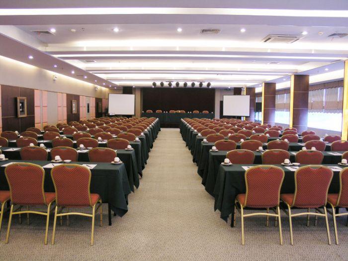 到武汉开会 三百人会场 湖滨花园酒店